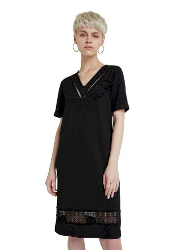 Šaty Desigual 20WWVK76 Vest Lisa