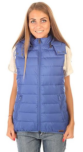 Fialovo-modrá vesta Roxy