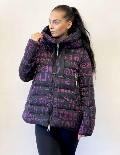 Zimní bunda Desigual Pakaian Jadi Wanita