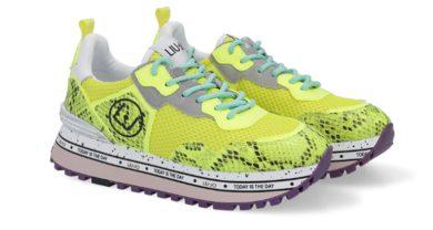 LIU JO Wonder running Yellow