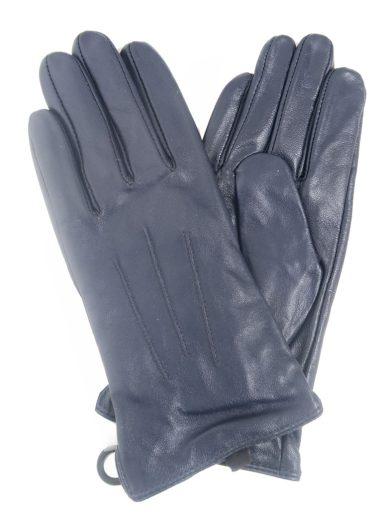 Kožené rukavice LIPSY modré