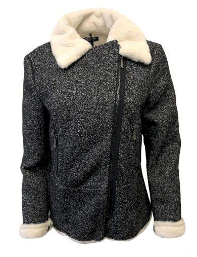 Melírovaný kabát Morgan P7-M1