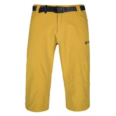 Kilpi Pánské 3/4 kalhoty Otara žlutá