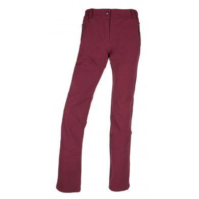 Kilpi Dámské outdoorové kalhoty Lago tmavě červená