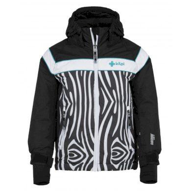 Kilpi Dětská lyžařská bunda Delisg černá