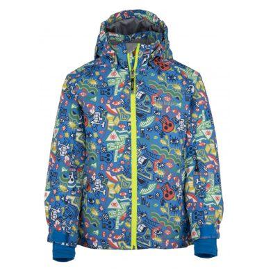 Kilpi Dětská lyžařská bunda Bennyb modrá