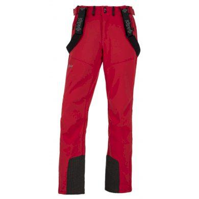 Kilpi Pánské lyžařské kalhoty Rhea červená