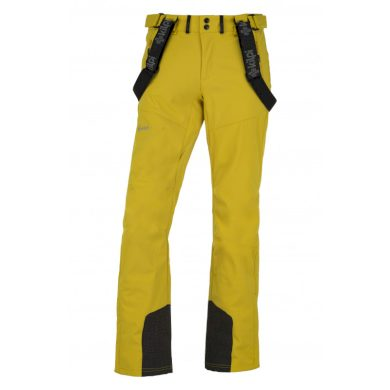 Kilpi Pánské lyžařské kalhoty Rhea žlutá
