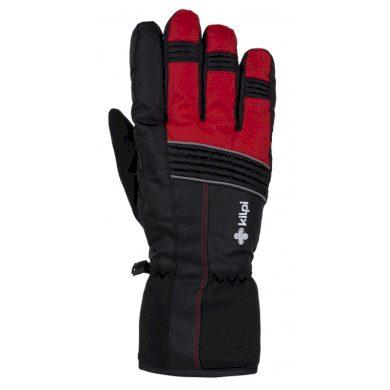 Kilpi Lyžařské rukavice Grant červená