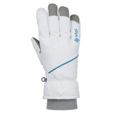 Kilpi Lyžařské rukavice Tata bílá