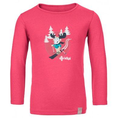 Kilpi Dětské tričko Lero růžová