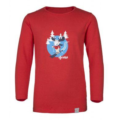 Kilpi Dětské tričko Lero červená