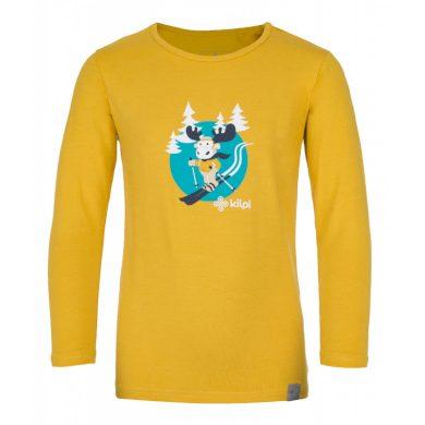 Kilpi Dětské tričko Lero žlutá