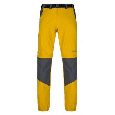 Kilpi Pánské outdoorové kalhoty Hosio žlutá