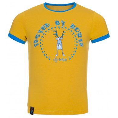 Kilpi Dětské tričko Mercyb žlutá