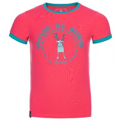 Kilpi Dětské tričko Mercyg růžová