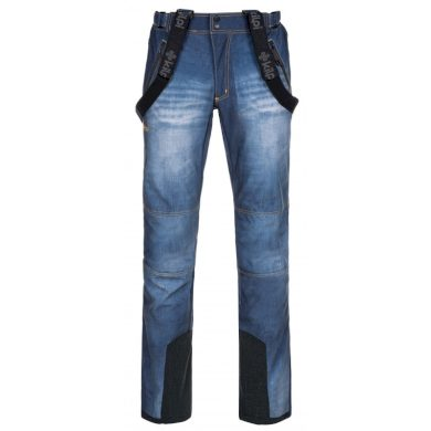 Kilpi Pánské lyžařské kalhoty Jeanso modrá