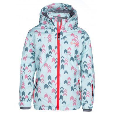 Kilpi Dětská lyžařská bunda Jenovag růžová