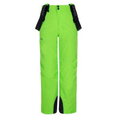 Kilpi Dětské lyžařské kalhoty Methoneb zelená