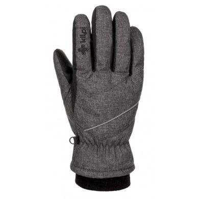 Kilpi Lyžařské rukavice Tata tmavě šedá