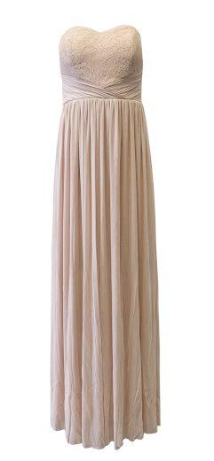 Dlouhé šaty Lipsy EX00651 Nude