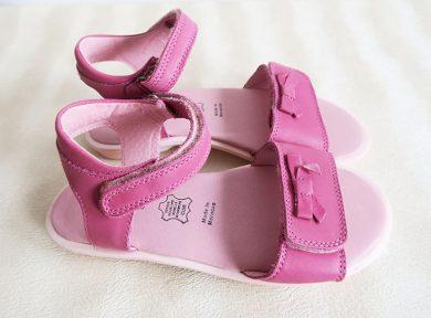 Dívčí boty - sandály mašlička Orchestra