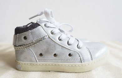 Dívčí boty stříbrné Orchestra