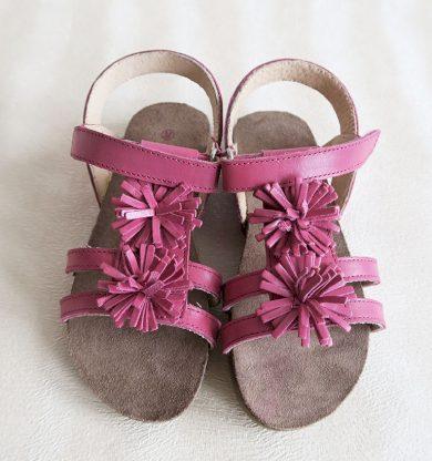 Dívčí boty - sandály květinky Orchestra