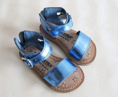 Dívčí modré sandály Orchestra