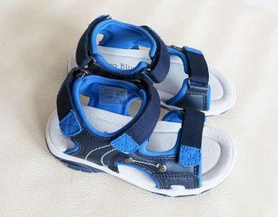 Chlapecké boty-sandály modré Orchestra