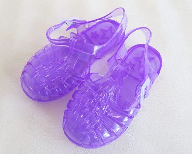 Dívčí boty gumové fialové Orchestra