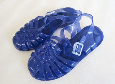 Dívčí boty gumové modré Orchestra