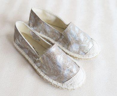 Dívčí boty zlatostříbrné Orchestra