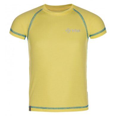 Kilpi Dětské tričko Tecnib žlutá