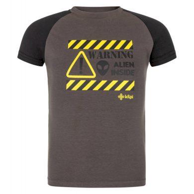 Kilpi Dětské tričko Salob tmavě šedá