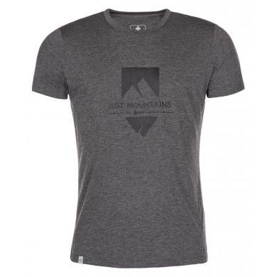 Kilpi Pánské tričko Garove tmavě šedá