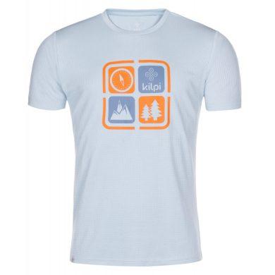 Kilpi Pánské tričko Giacinto světle modrá