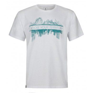 Kilpi pánské tričko Territory bílá