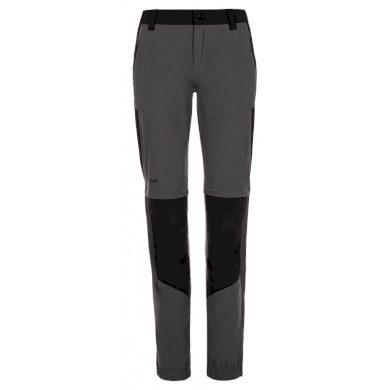 Kilpi Dámské outdoorové kalhoty Hosio tmavě šedá