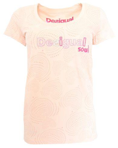 Desigual barevné vzorované triko