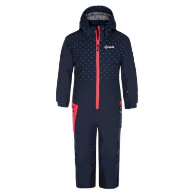 Kilpi Dětská lyžařská bunda Saaring tmavě modrá