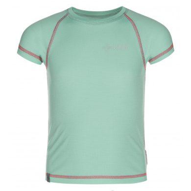 Kilpi Dětské tričko Tecnig tyrkysová