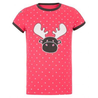Kilpi Dětské tričko Malgag růžová