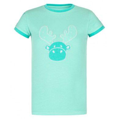 Kilpi Dětské tričko Malgag tyrkysová