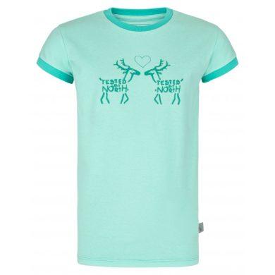 Kilpi Dětské tričko Aviog tyrkysová
