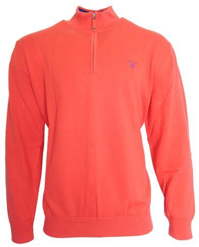 Barevný svetr se zipem Gant
