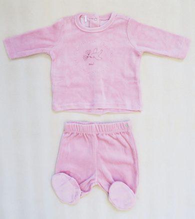 Kojenecké růžové pyžamo Orchestra HB003B-ROC
