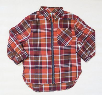 Dětská košile na zip Orchestra HGAK6M-RGF