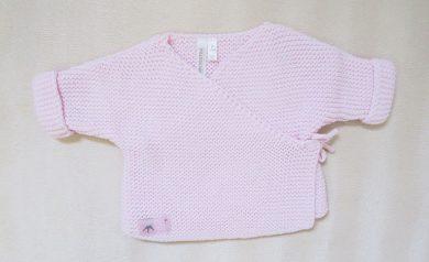 Kojenecký svetr růžový Orchestra HB0066-ROC