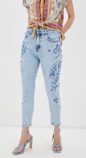 Kalhoty Desigual 21SWDD29/5058